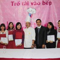 Lễ trao giải cuộc thi Trổ tài vào Bếp 2012