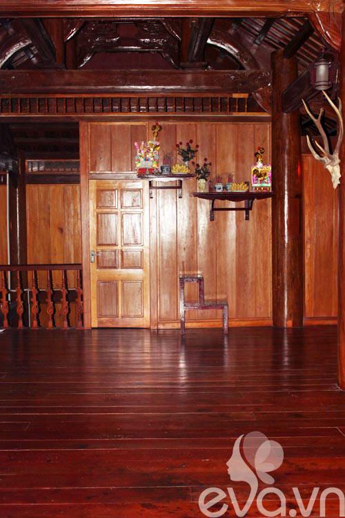 Khoe nhà: Ghen tị nhà toàn gỗ là gỗ-17
