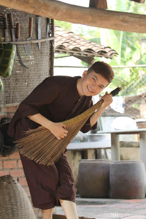 Học trò Thúy Vinh háo hức làm MV Tết-4