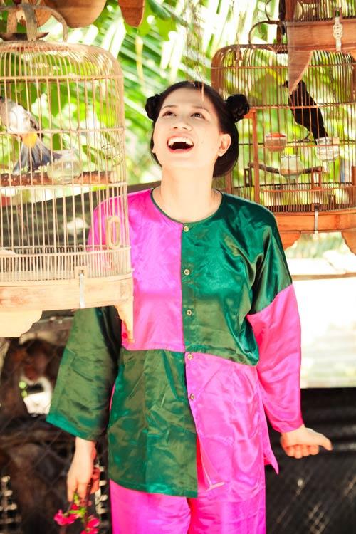 Học trò Thúy Vinh háo hức làm MV Tết-11