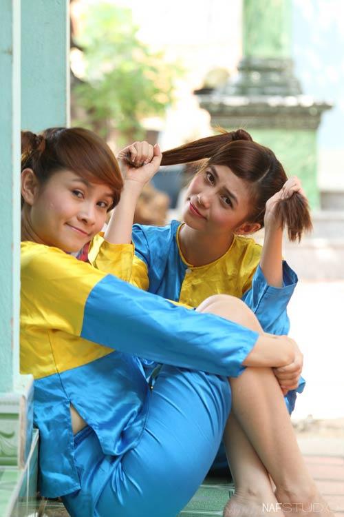 Học trò Thúy Vinh háo hức làm MV Tết-5