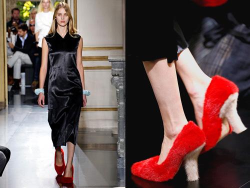 Celine tung mẫu giày lông xấu xí - 7