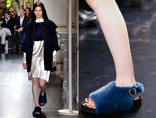 Celine tung mẫu giày lông xấu xí - 1