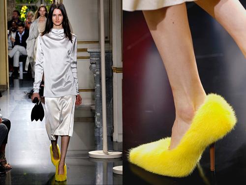Celine tung mẫu giày lông xấu xí - 8