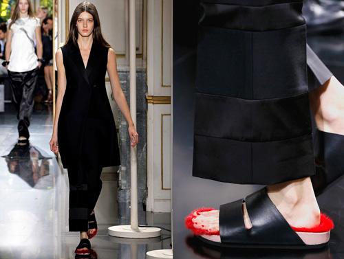 Celine tung mẫu giày lông xấu xí - 12