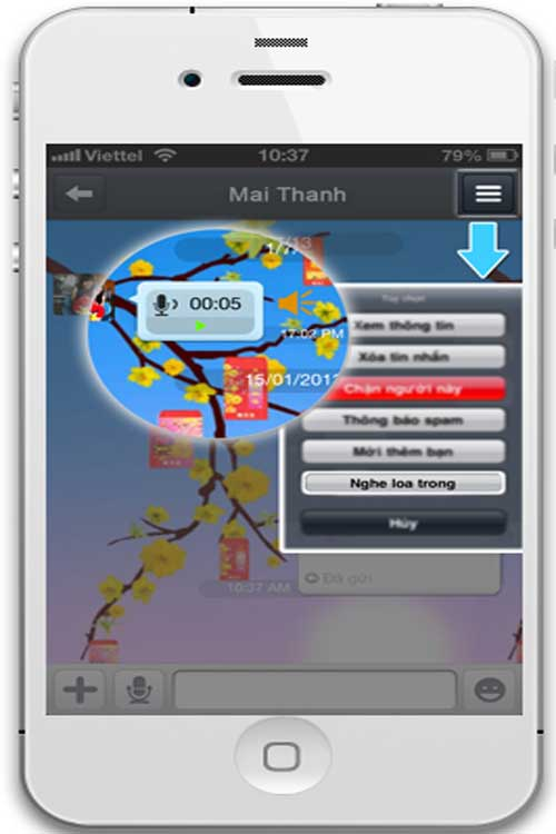 Zalo bổ sung loạt tính năng mới cho iPhone-2