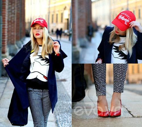 Eva Icon: Xì tai mùa đông màu mè của blogger Ý-12