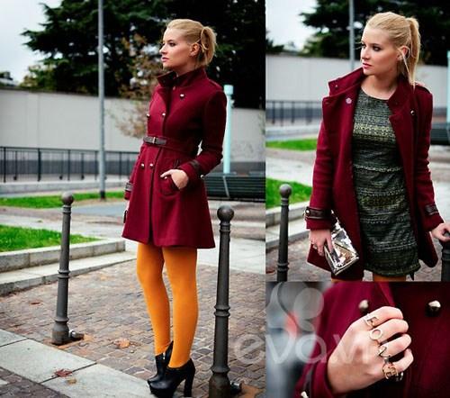 Eva Icon: Xì tai mùa đông màu mè của blogger Ý-8