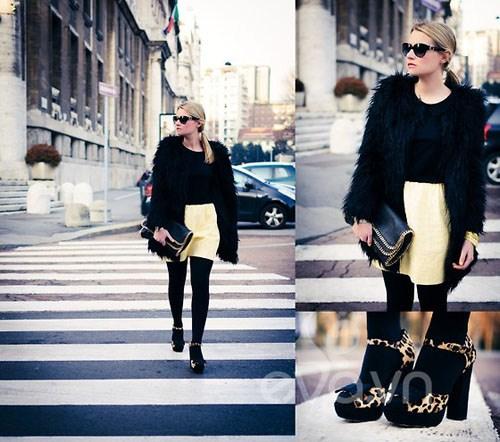 Eva Icon: Xì tai mùa đông màu mè của blogger Ý-3
