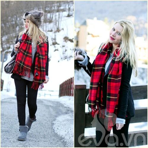Eva Icon: Xì tai mùa đông màu mè của blogger Ý-11