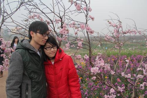 Vườn hoa Bách Nhật hút khách ngày xuân-11