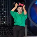 """Làng sao - Phương Thanh """"siêu"""" xì tin khi hóa bé Xuân Mai"""