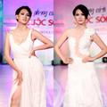Thời trang - Anh Thư duyên dáng với váy trắng tinh khôi