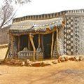 Chiêm ngưỡng nhà bùn nghệ thuật châu Phi