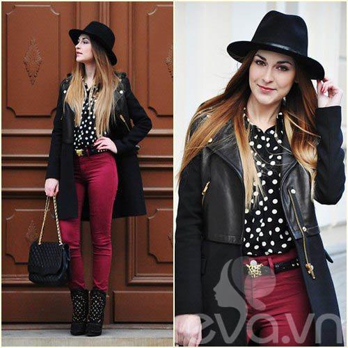 eva icon: bst quan jeans cuc chat cua blogger ba lan - 3