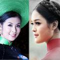 Thời trang - Các Hoa hậu Việt Nam chúc Tết độc giả Eva