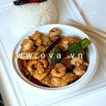 Bếp Eva - Thịt gà xào hạt điều kiểu Thái