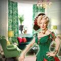 Nhà đẹp - Nhà em uốn mình ngả nghiêng theo... màu váy