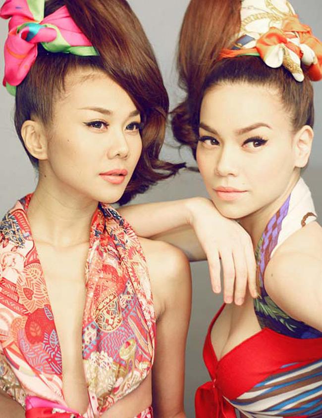 Hà Hồ ThanhHằng từng có nhiều khoảnh khắc đẹp. Mỗi người một vẻ nhưng cả hai đều sở hữu nhan sắc nổi bật nhất nhì showbiz Việt.