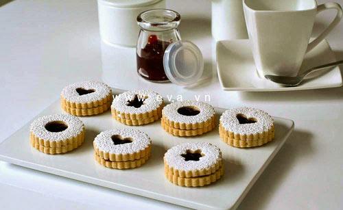 banh linzer cookies thom ngon kieu ao - 6