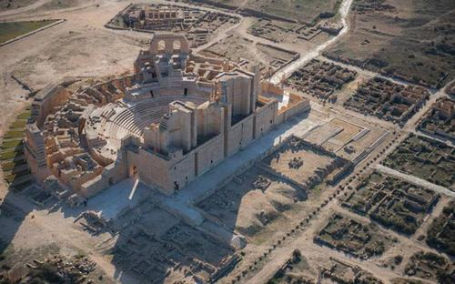 Chiêm ngưỡng tàn tích La Mã ở Bắc Phi-4