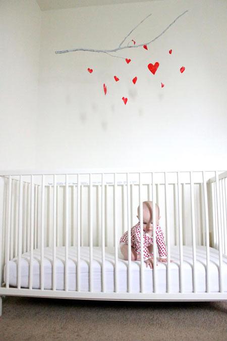 Tim xinh lủng lẳng trong phòng bé cưng-10