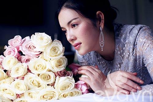 Lý Nhã Kỳ lãng mạn bên hoa hồng Pháp-10