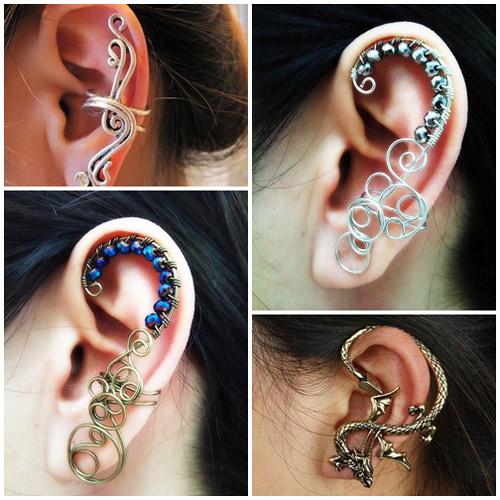 Ear Cuff - phụ kiện độc cho đôi tai-8
