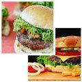Bếp Eva - Video: Bánh mỳ burger kẹp thịt bò