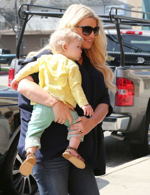 can canh con gai jessica simpson - 5