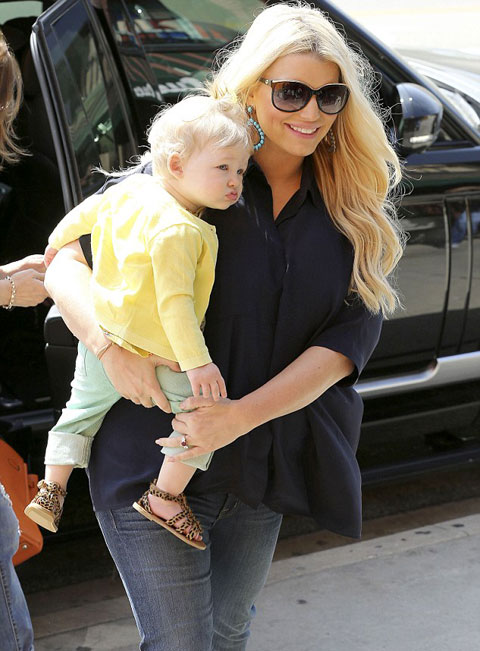 can canh con gai jessica simpson - 3
