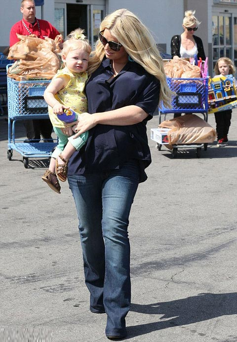 can canh con gai jessica simpson - 4
