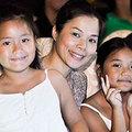 Làng sao - Con gái Mỹ Lệ đến cổ vũ mẹ