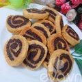 Bếp Eva - Bánh quy cuộn sô cô la không khó làm