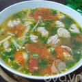 Bếp Eva - Canh chua giò sống nóng sốt đưa cơm