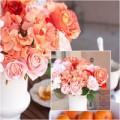 Nhà đẹp - Nhà đẹp rạng rỡ với bình hoa màu cam
