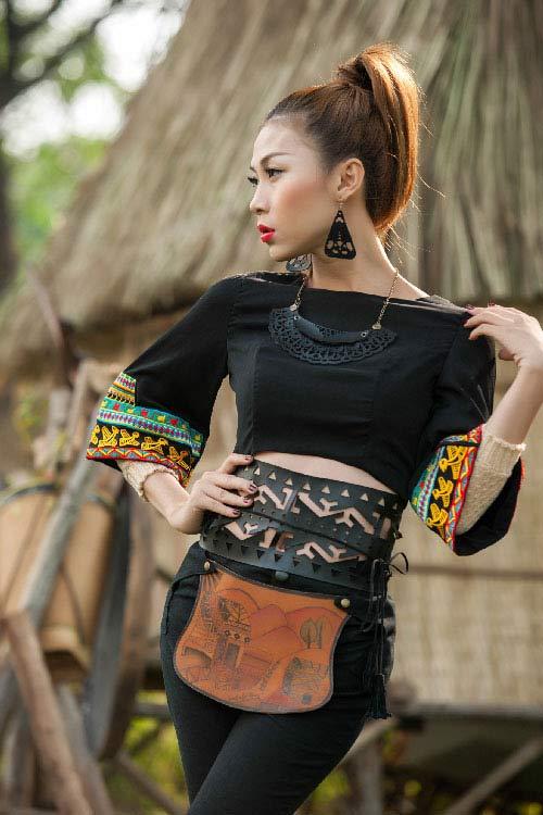 lan phuong next top manh me nhu nui rung tay nguyen - 2