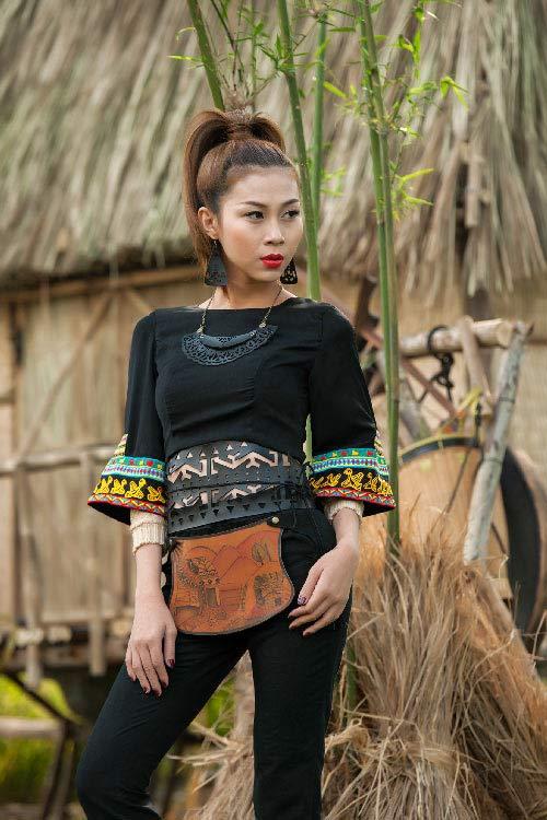 lan phuong next top manh me nhu nui rung tay nguyen - 3
