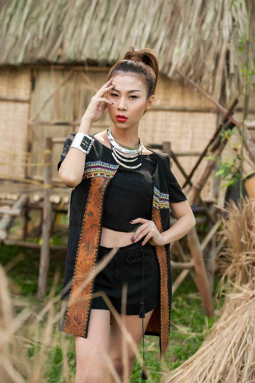 lan phuong next top manh me nhu nui rung tay nguyen - 6
