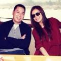 Làng sao - Triệu Vy khoe ảnh hạnh phúc bên chồng
