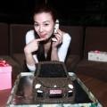 Làng sao - Fan tặng xe hơi độc cho Thu Thủy trong ngày sinh nhật