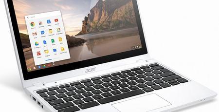 acer nang cap laptop gia re chromebook c720p len 2 gb ram - 1