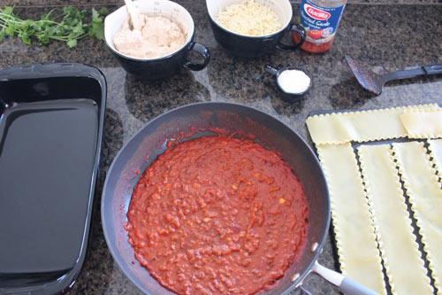 thu lam lasagna huong vi y nhe! - 6