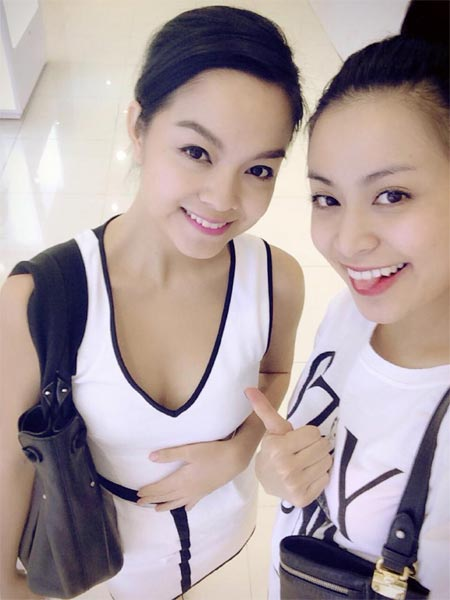 """hoang thuy linh """"do sac"""" voi pham quynh anh - 1"""