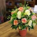 Nhà đẹp - Tự cắm hoa hồng đẹp và sang trọng