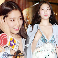 Park Shin Hye gợi cảm khoe vòng 1 tại Hongkong