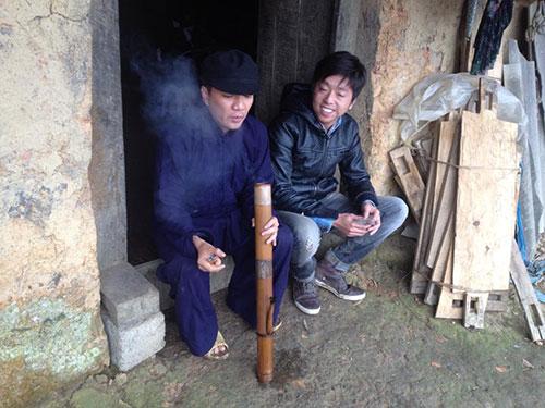 dam vinh hung nhuom rang, hut thuoc lao - 2