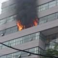 Tin tức - HN: Cháy lớn tại Trường Đại học Ngoại thương