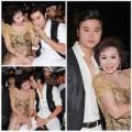 Làng sao - Hoàng Việt hôn tay người yêu giữa chốn đông