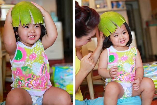 Hai cô công chúa nhà cựu siêu mẫu Thúy Hạnh càng lớn càng xinh xắn đáng yêu.